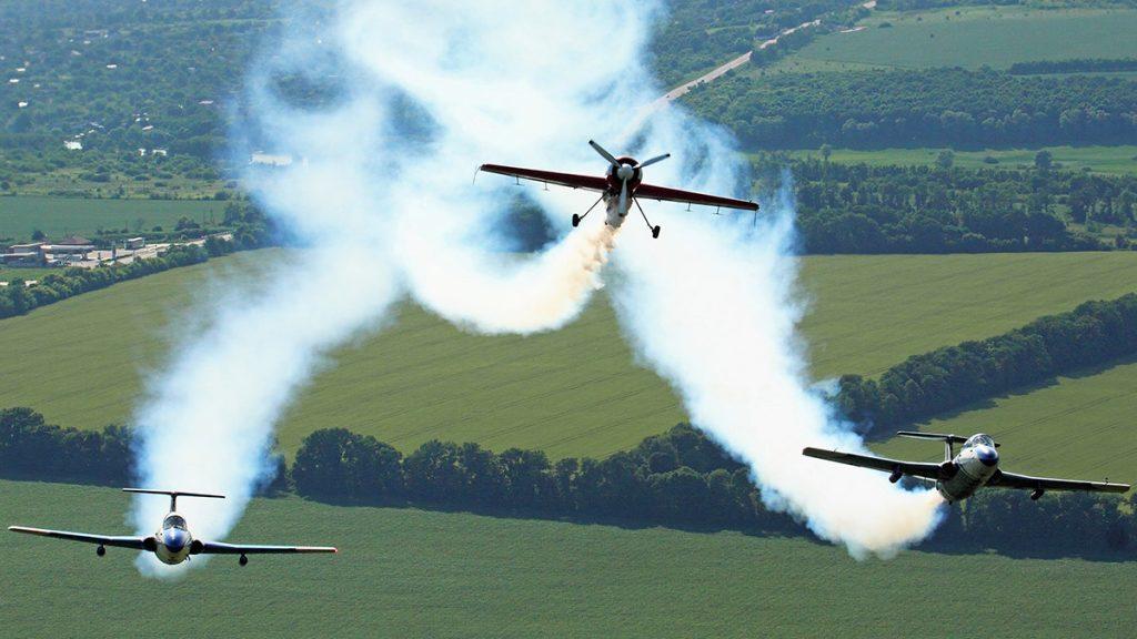 ВСУ на Волині продемонстрували приклади вищого пілотажу